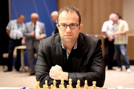 Contre toute attente, le joueur ukrainien Pavel Eljanov, originaire de Kharkov, a éliminé l'Américain Hikaru Nakamura - Photo © site officiel