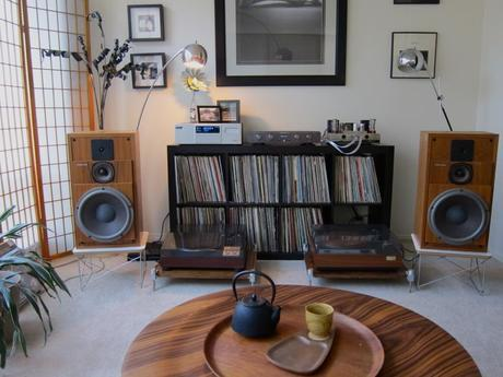 meuble vinyle platine ikea expedit kallax