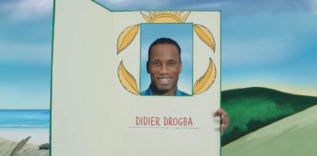 La vie de Didier Drogba vue par Turkish Airlines