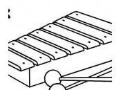 dessin xylophone