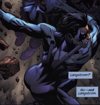 Nightwing's butt 7