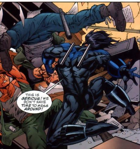 Nightwing's butt 5