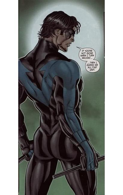 Nightwing's butt 3