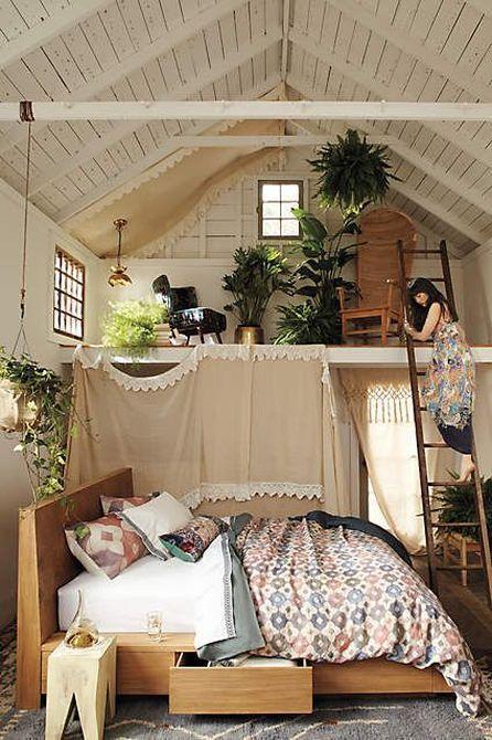 Chambre avec Mezzanine | À Découvrir