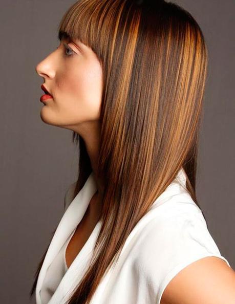 Extrêmement Coiffure cheveux lisse long : Modeles que nous aimons absolument  FA32