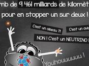 neutrinos sont petits qu'il faudrait 9461 milliards kilomètres d'ĂŠpaisseur plomb pour stopper