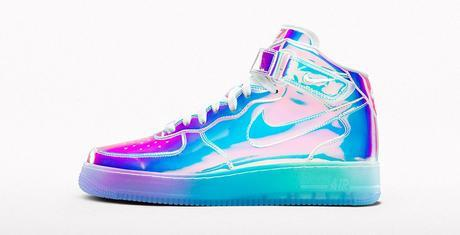 NIKE AIR FORCE 1 ID IRIDESCENT: COME BACK !