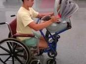 poussette conçue pour parents fauteuil