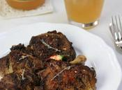 Poulet jamaïquaine, épices jerk raisin (Jerk chicken)