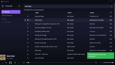Aurous le PopCorn Time de la musique en streaming durera-t-il?