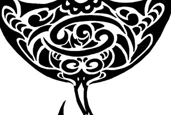 Dessin tatoo raie manta paperblog - Dessin raie manta ...