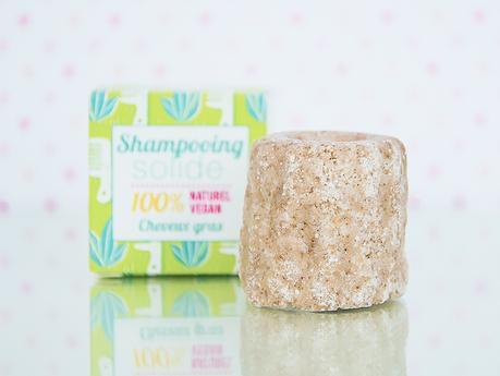 Shampoing solide cannelé pour cheveux gras à la listée citronnée bio naturel vegan cruelty free Lamazuna