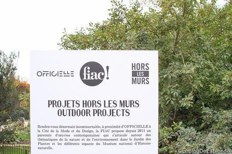 Ce week-end à Paris on fait quoi? On profite de la FIAC hors-les-murs!