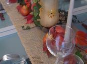 Table dans tons orangés