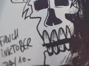 Inktober Skull