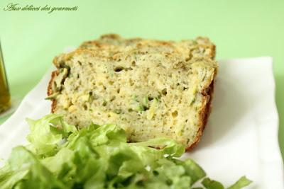CAKE COURGETTES AU PESTO
