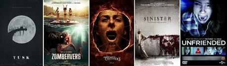 Halloweek # 1 : 5 films d'horreur pour un halloween en solo .