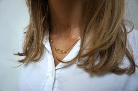 chloeschlothes - chloe gold necklace