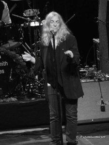Patti Smith and her band perform Horses - Ancienne Belgique - Bruxelles, le 27 octobre 2015