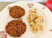 Steaks lentilles Boulgour, accompagnés Pâtisson saveurs automnales (Vegan L'art d'accommoder restes)
