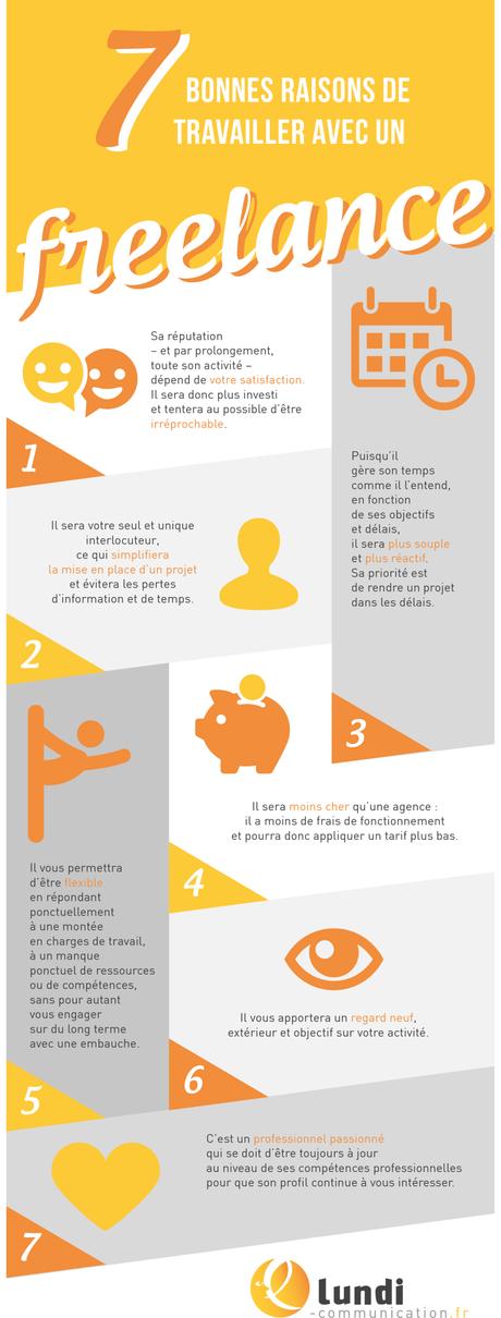 7 bonnes raisons de travailler avec un freelance