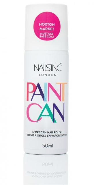 Nails Inc révolutionne le vernis avec Paint Can!