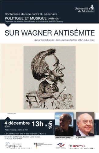 Un débat sur le Wagner antisémite de Jean-Jacques Nattiez, des récitals de Marianne Fiset et Susan Platts… et un TwouiiiT Opéra