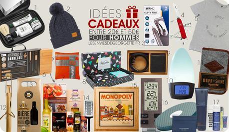 50 id es cadeaux de no l pour homme. Black Bedroom Furniture Sets. Home Design Ideas