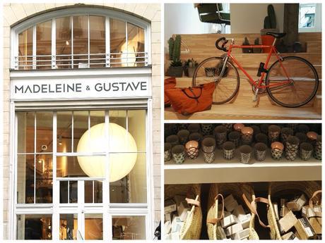 Découvrez Madeleine et Gustave, nouveau concept store design