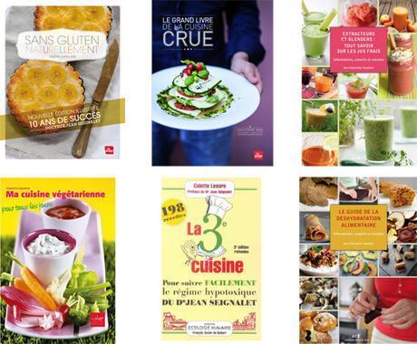Offres des livres de cuisine saine pour Noël