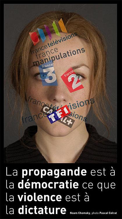 Propagande médiatique, politique, idéologique