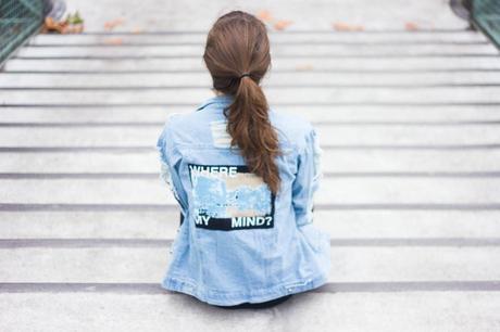 destroy jeans jacket