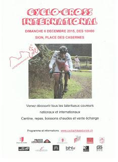 Cyclo-cross de Sion-Valais
