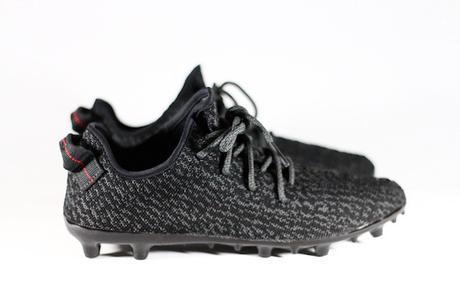 Les Yeezy Boost 350 en mode chaussure de foot