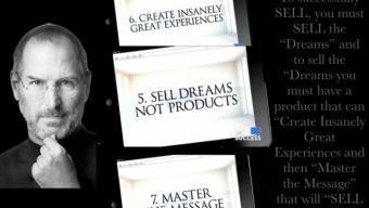 Vous devez vendre du rêve et de l'émotion pour vendre un produit !
