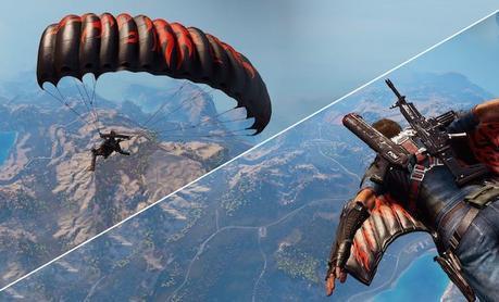 Découvrez «Just Cause 3», le jeu qui met à l'honneur le Wingsuit