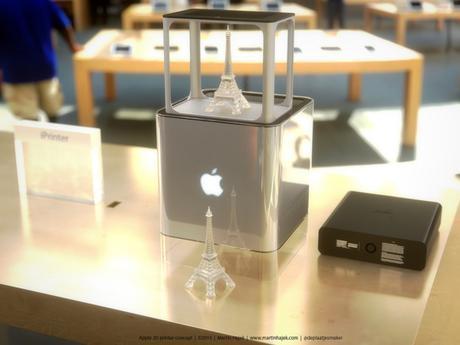 iPrinter l'imprimante 3D d'Apple