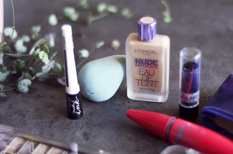 Routine make up : mes indispensables .