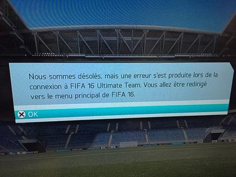 Fifa Ultimate Team 16 sur PS3 : lamentable !