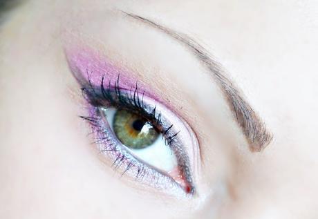 1# - Le mauve, maquillage du jour .