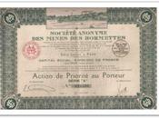Société mines Bormettes
