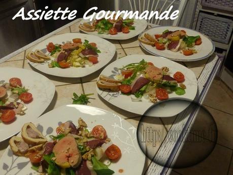 Extrem Salade Gourmande ( Foie Gras mi cuit au Thermomix ) | À Découvrir NV01
