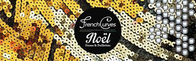 French curves #21 : NOEL EN STRASS ET PAILLETTES