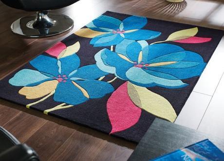Tapis florals