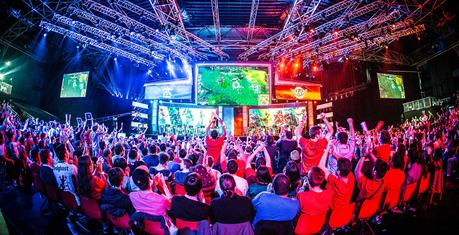 Tournoi du jeu League of Legends disputé à Paris en mai dernier (Photo : Helena Kristiansson).