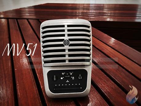 Microphone Shure Motiv MV51: indispensable pour les podcasts
