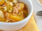 Salade suprêmes d'orange {vanille, cannelle, amandes pistaches}