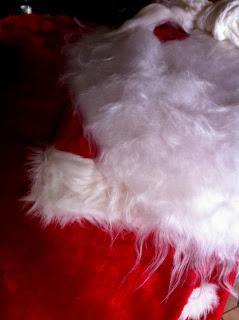 Le père Noel et les tarentules.