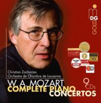 Mozart Zacharias integrale concertos piano mozart