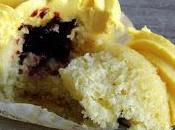 Cupcakes citron-confiture fraise-myrtille-cassis